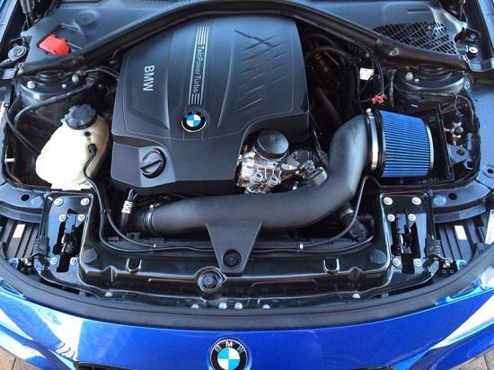 BMS intake added to BMW F30 335i | SR Speedworx